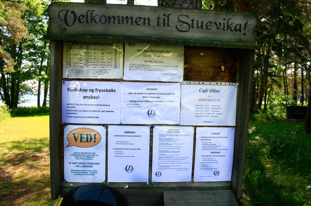 Stuevika Bade- og Teltplass Søndre Sandøy