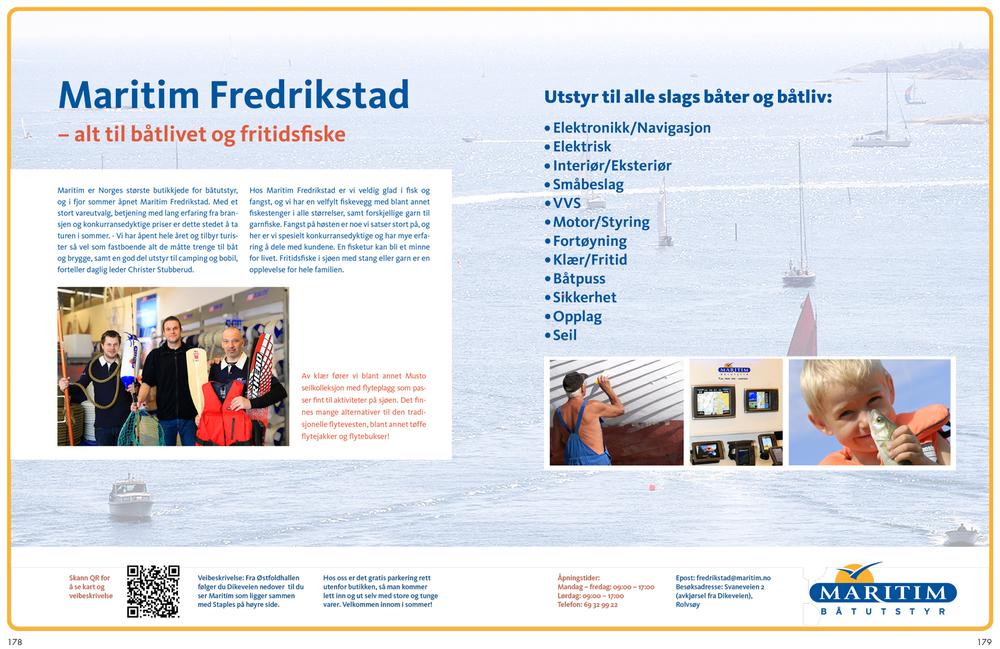 Maritim Fredrikstad Båtutstyr