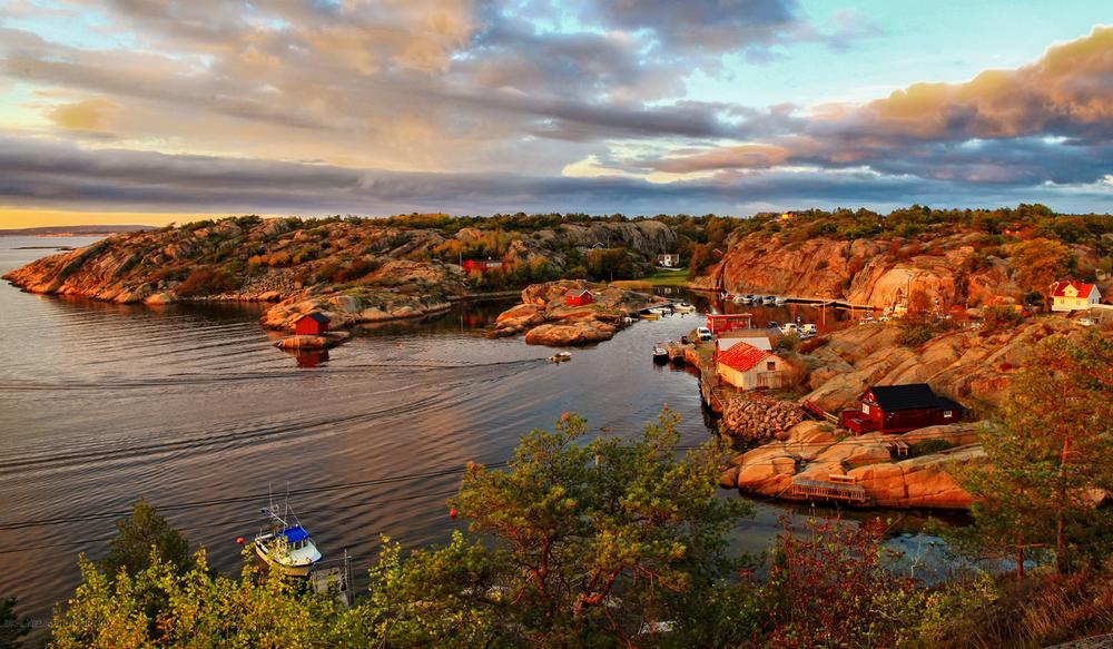 Vakre Hvaler. Her fra nydelige Papperhavn på Vesterøy.
