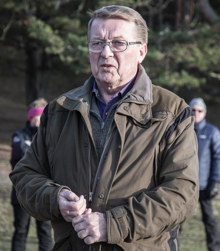 Ordfører Eivind Norman Borge