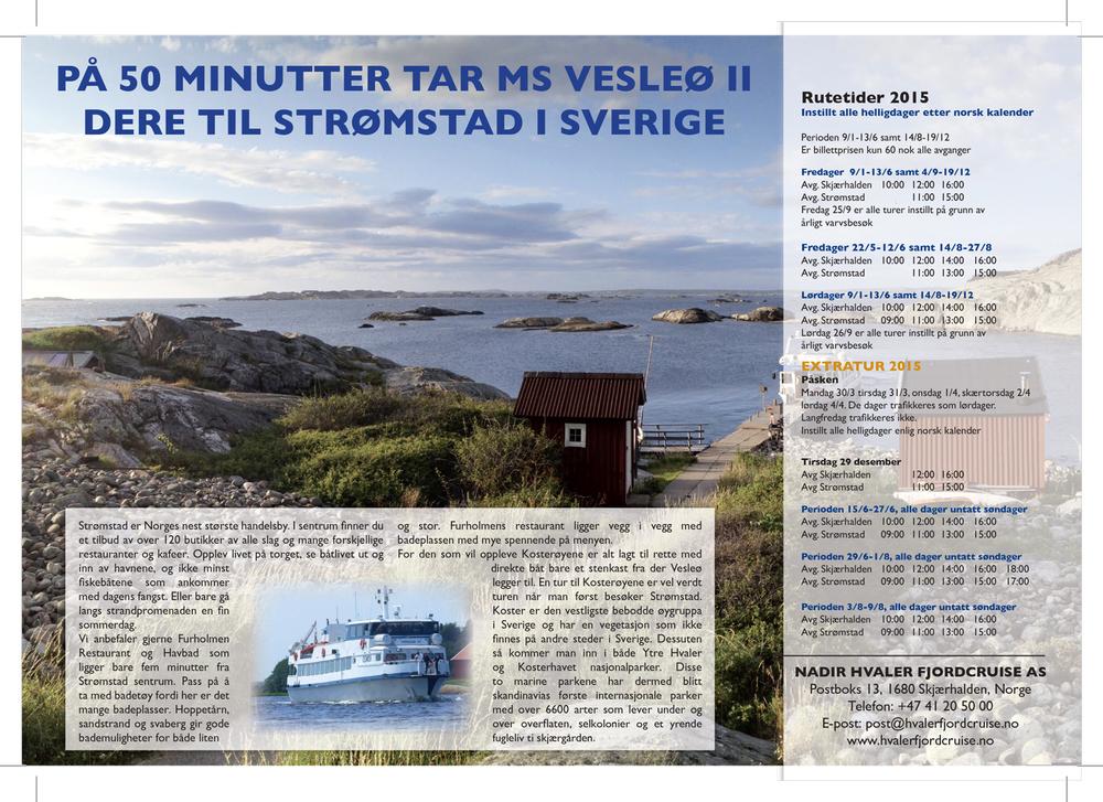 Hvaler fjordccruise