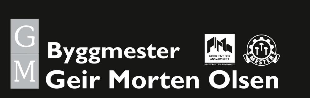 Byggmester Geir Morten Olsen