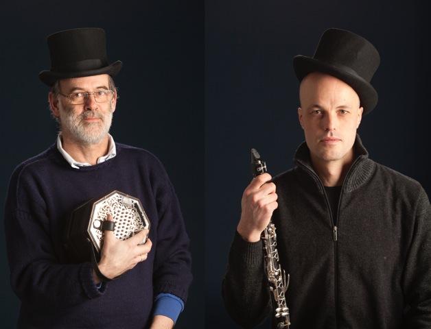 Richard Burgess og Patrik Wingård - møt dem og hør dem i Amfigrotta ved Brottet lørdag 31.10