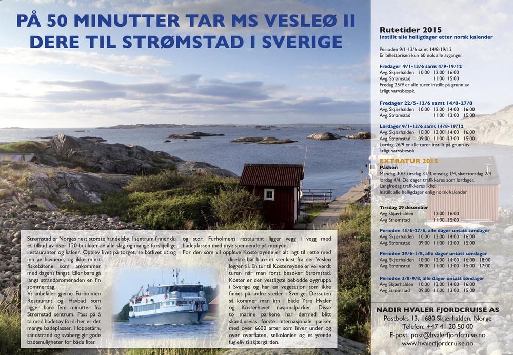 Hvaler fjordcruise