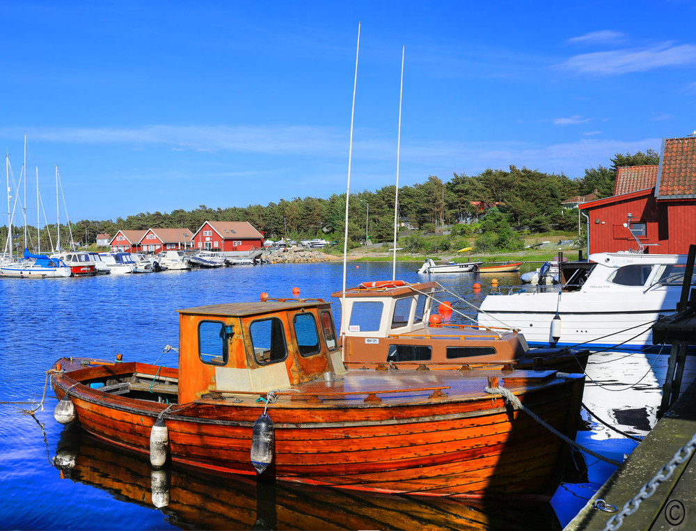 Vakre Brattestø på Asmaløy. Foto:  ©   Eirik Dahl / Visit Hvaler