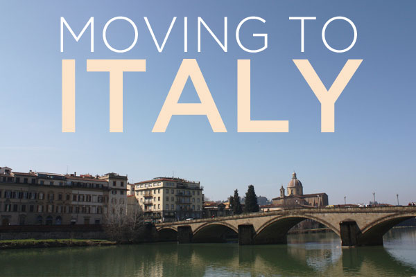 moving to italy