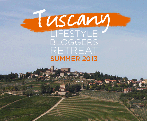 Tuscany Blogger Retreat
