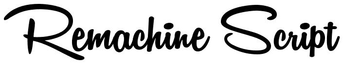 retro-script-font-free-remachine.png