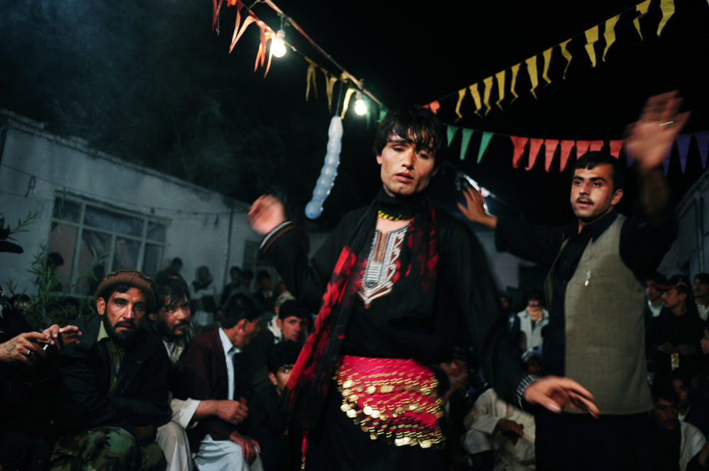 "From the series ""The Dancing Boys"" - Barat Ali Batoor"