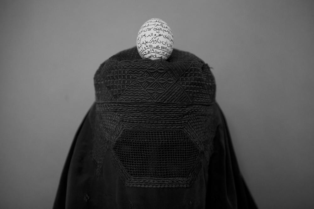 "From the series ""Invisible captivity"" -Rada Akbar"