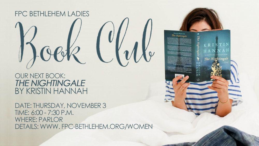 Ladies Book Club The Nightingale