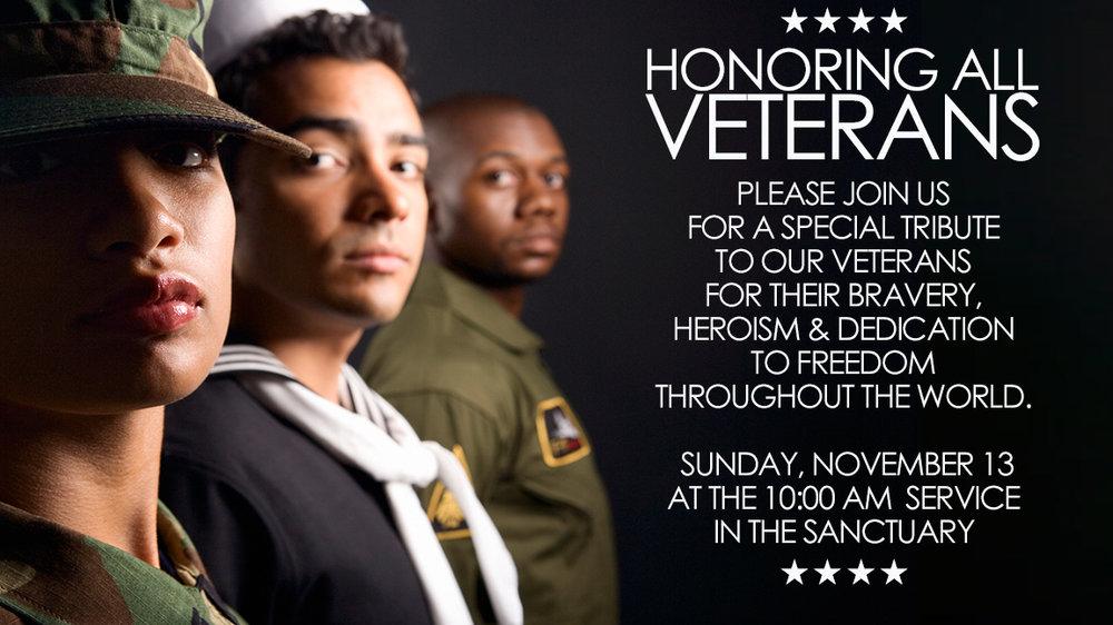 Veterans Tribute