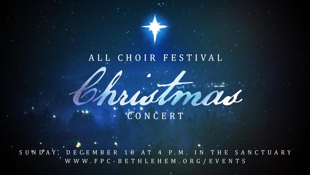 Festival Christmas Concert