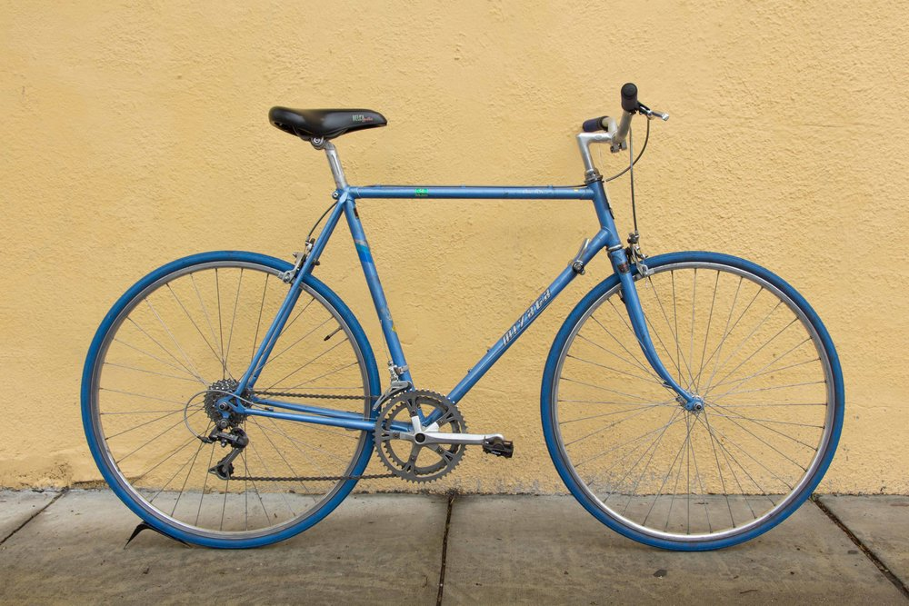 [SOLD] Miyata Road Flatbar Conversion