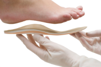 Foot orthosis insole fitting