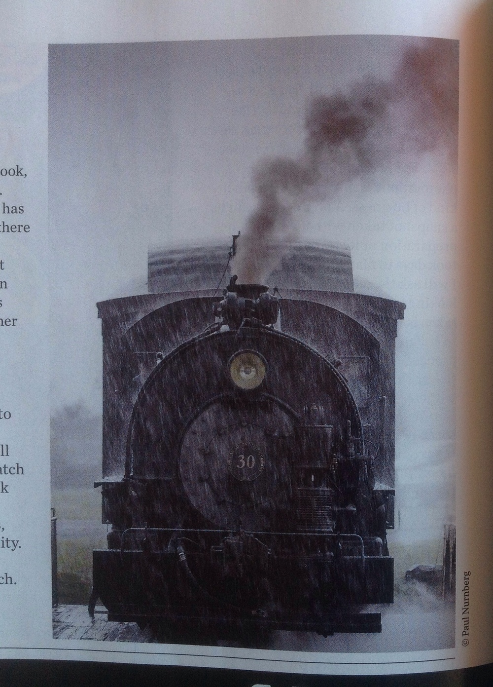 They used one image of mine that I had made of a steam locomotive recently.