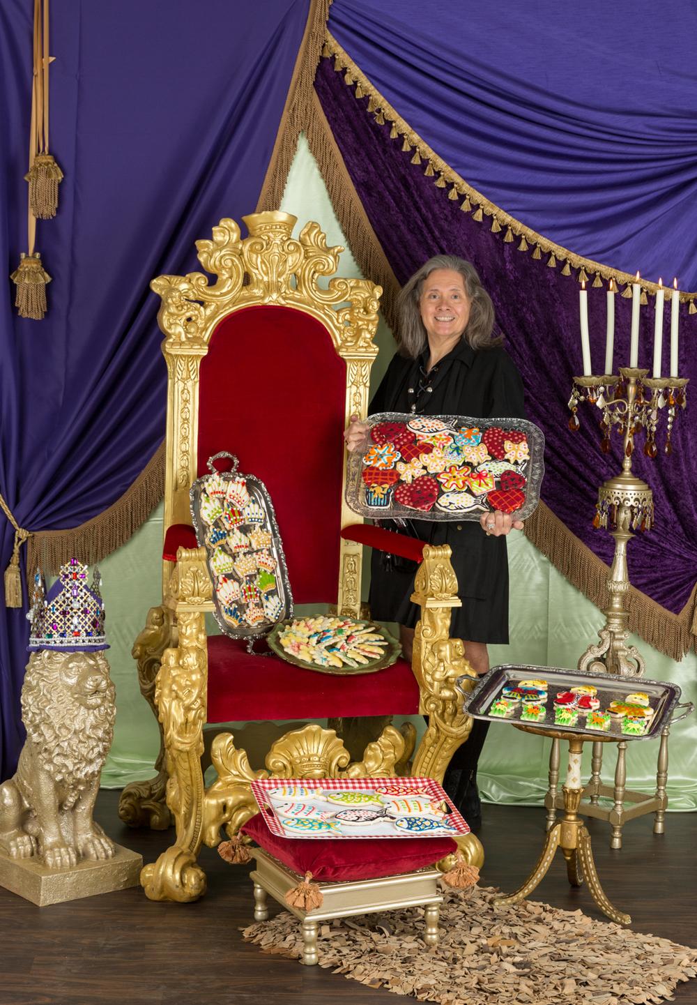 Robert Merten, AKA The Cookie King photographed in my studio