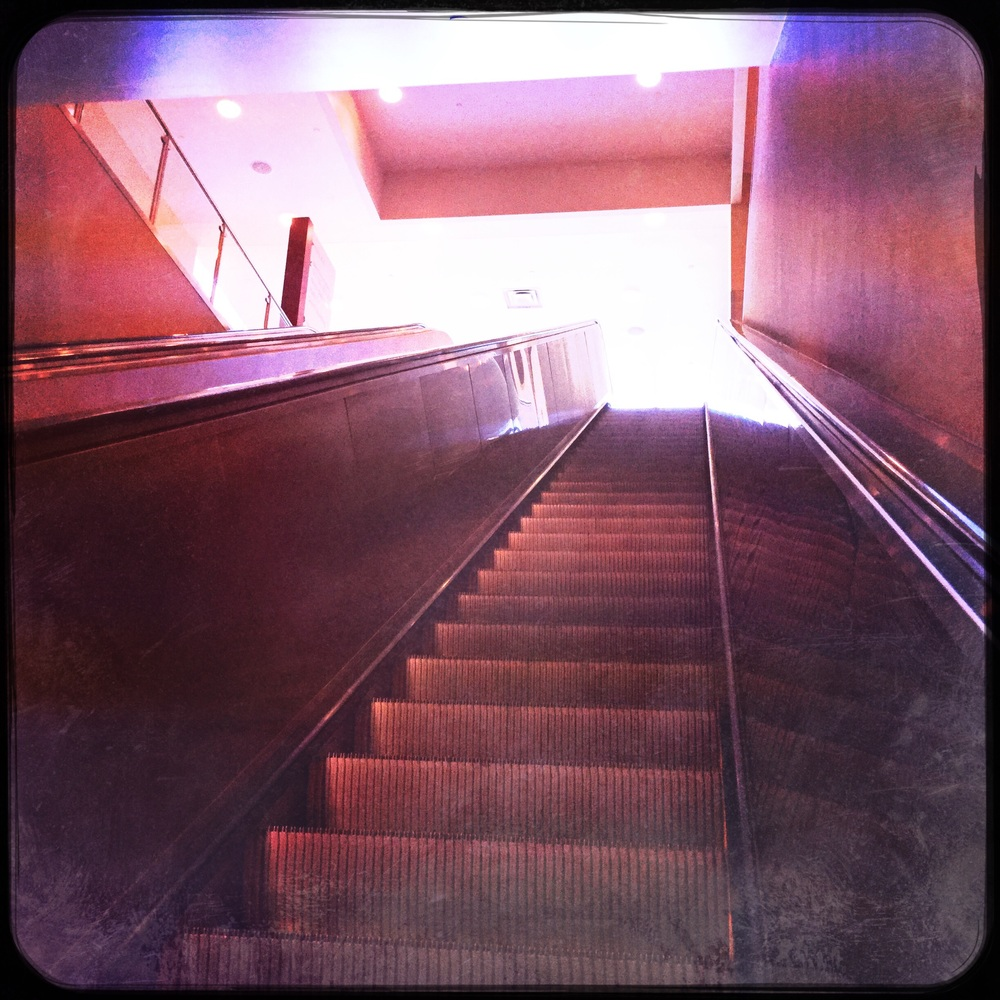 Escalator 2. Going Up?