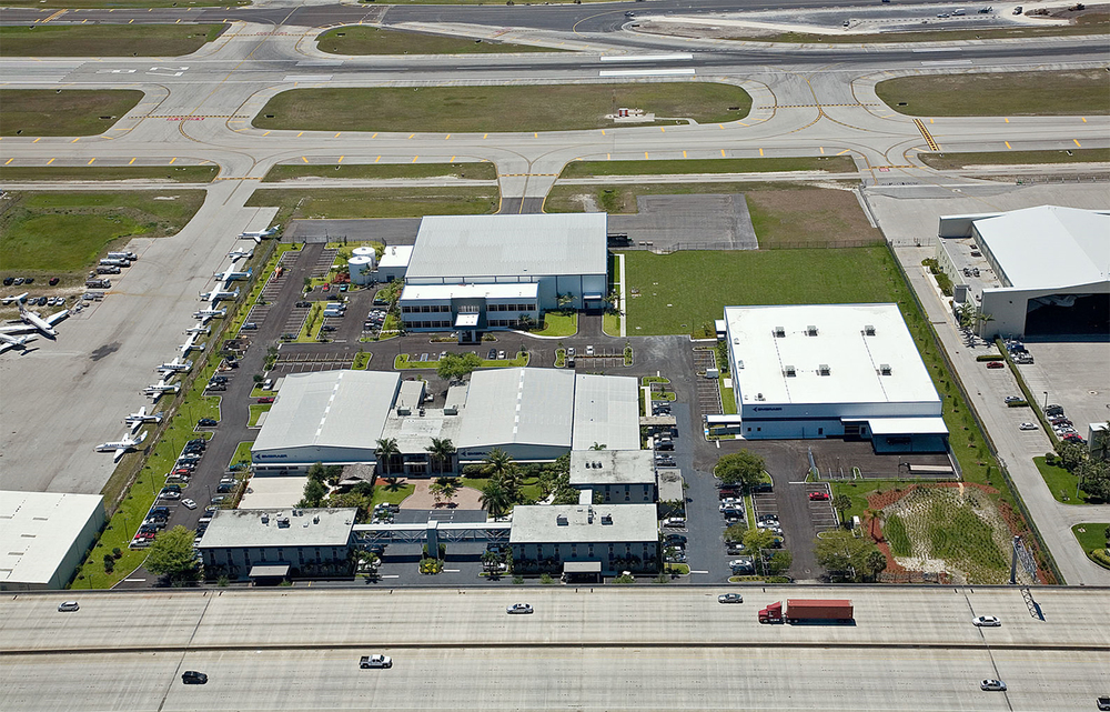 Embraer Executive Jet Center, Fort Lauderdale, Florida