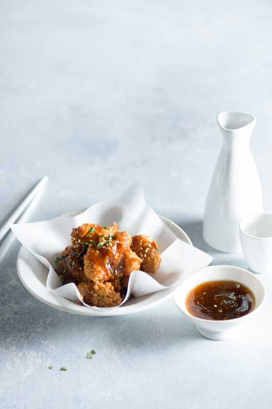 Fried Sesame Chicken Stock Food Photo