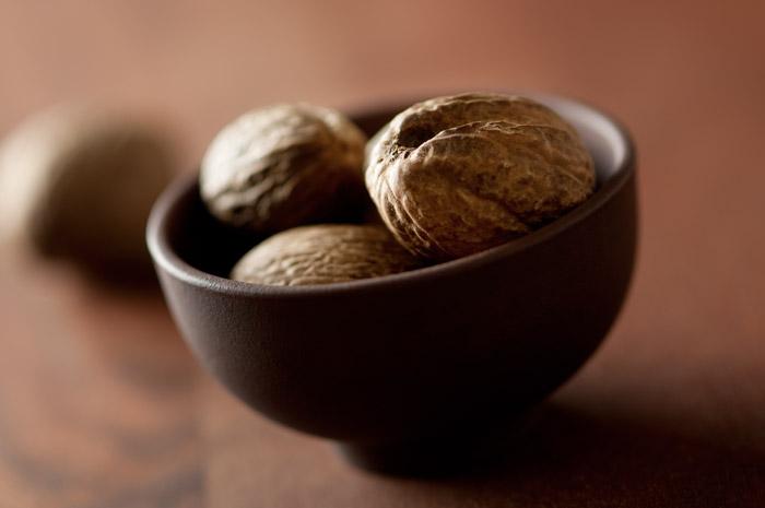 Nutmeg Stock Food Photo
