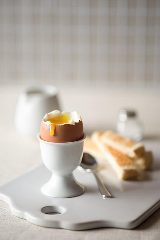 Soft-Boiled Egg Breakfast Stock Food Photo
