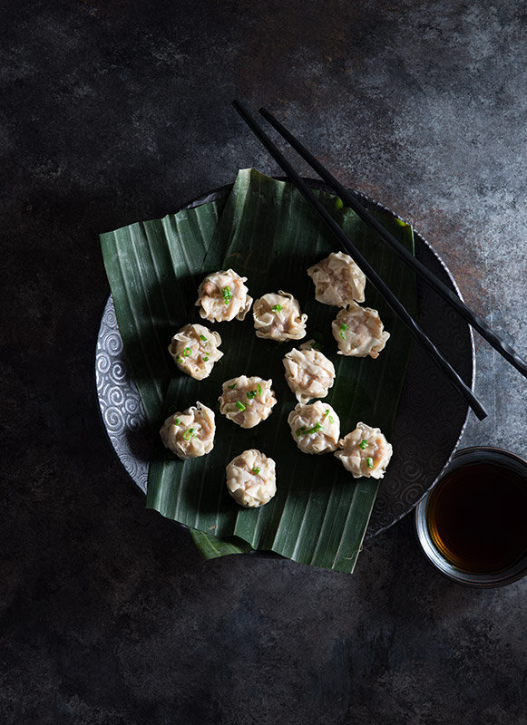 Steamed Shumai Stock Food Photo