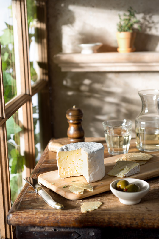 Wine and Cheese Rustic Farmhouse Stock Food Photo