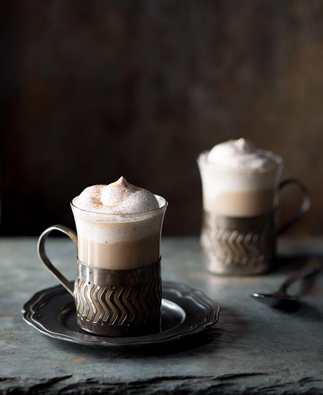 Bailey's Irish Coffee Drink Stock Photo
