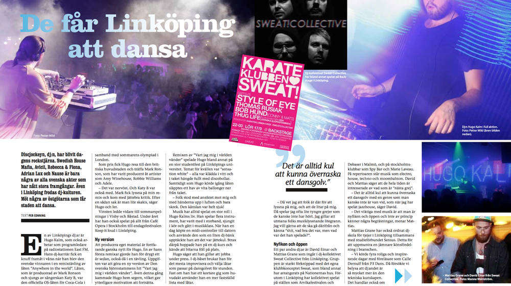 "Article and interview in magazine ""Dialog"""