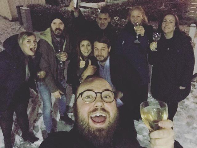 The gang from 2017 - tack för bra partaj! ✨💫✌️🌟