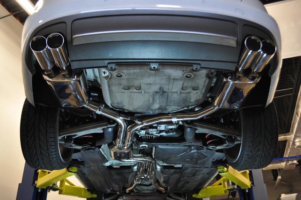 FULL DOWN PIPE EXHAUST SYSTEMS