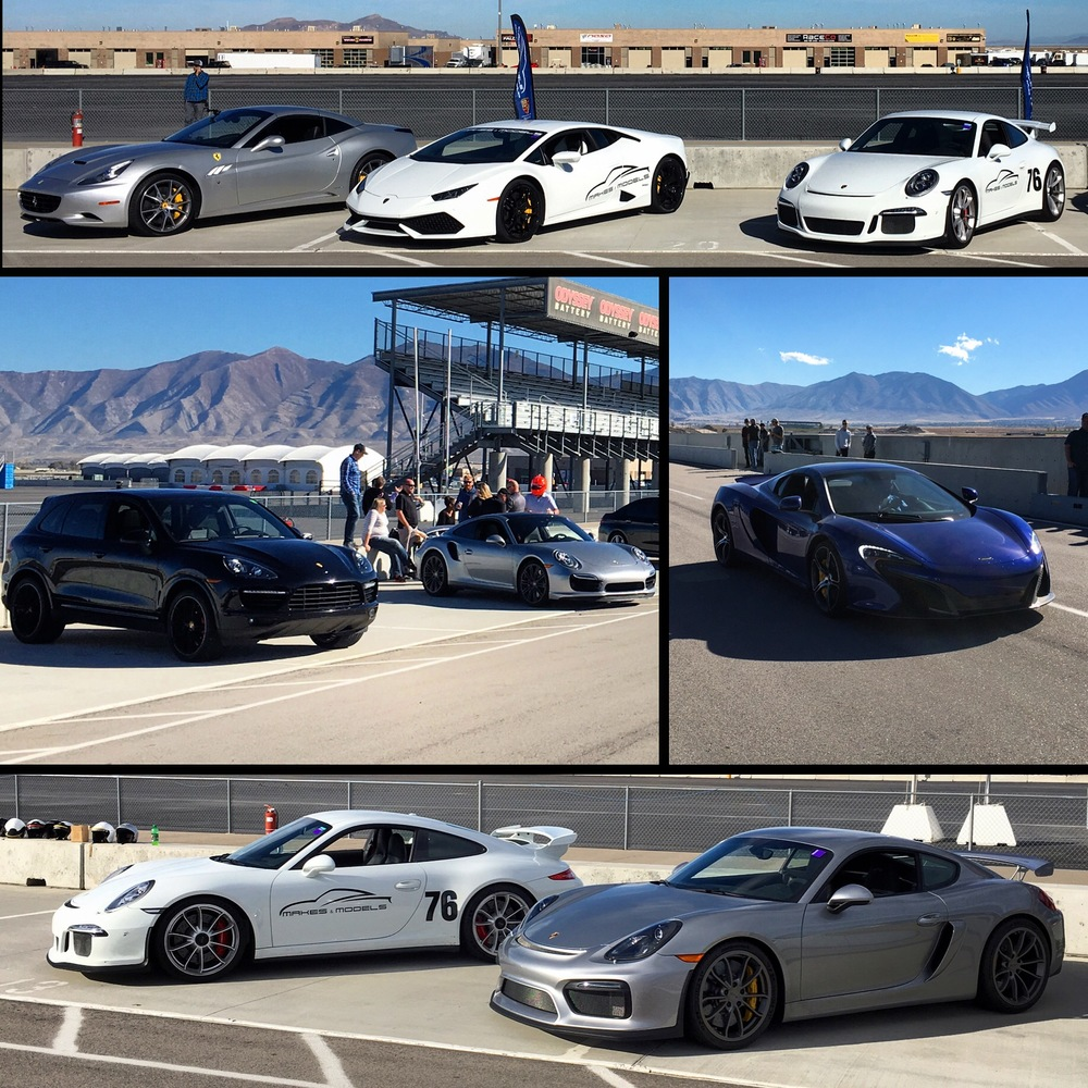Academy Mortgage Private Track Event supported by Makes & Models