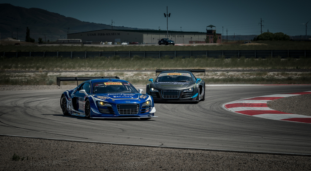 Makes & Models Driver Development Program Lead - Follow session in 2 Audi R8 LMS Ultra FIA GT3 race cars.