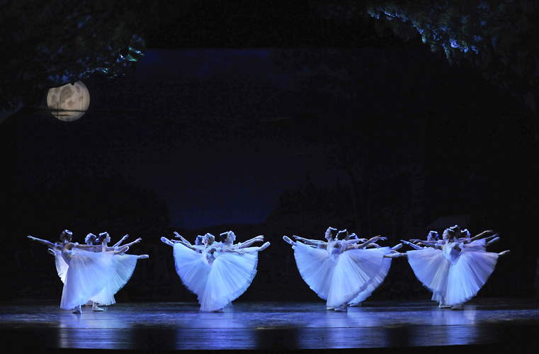 FSBT company performing Giselle in 2011.