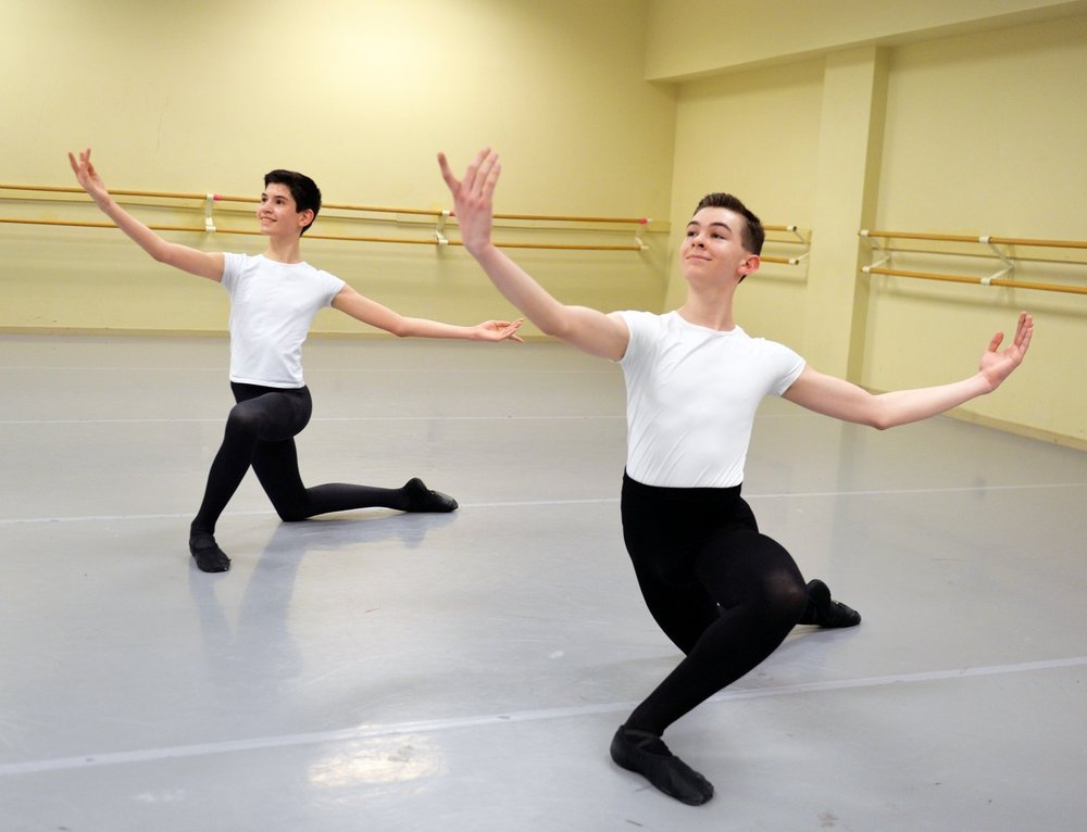 Boys Scholarship Program - FSBT is excited to announce our Boys Scholarship Program beginning in the fall of 2017. Applications for this tuition-free program are being taken now. Some restrictions apply. For more information, email fsbt@firststateballet.com.