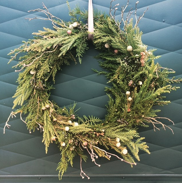 fir and branches wreath