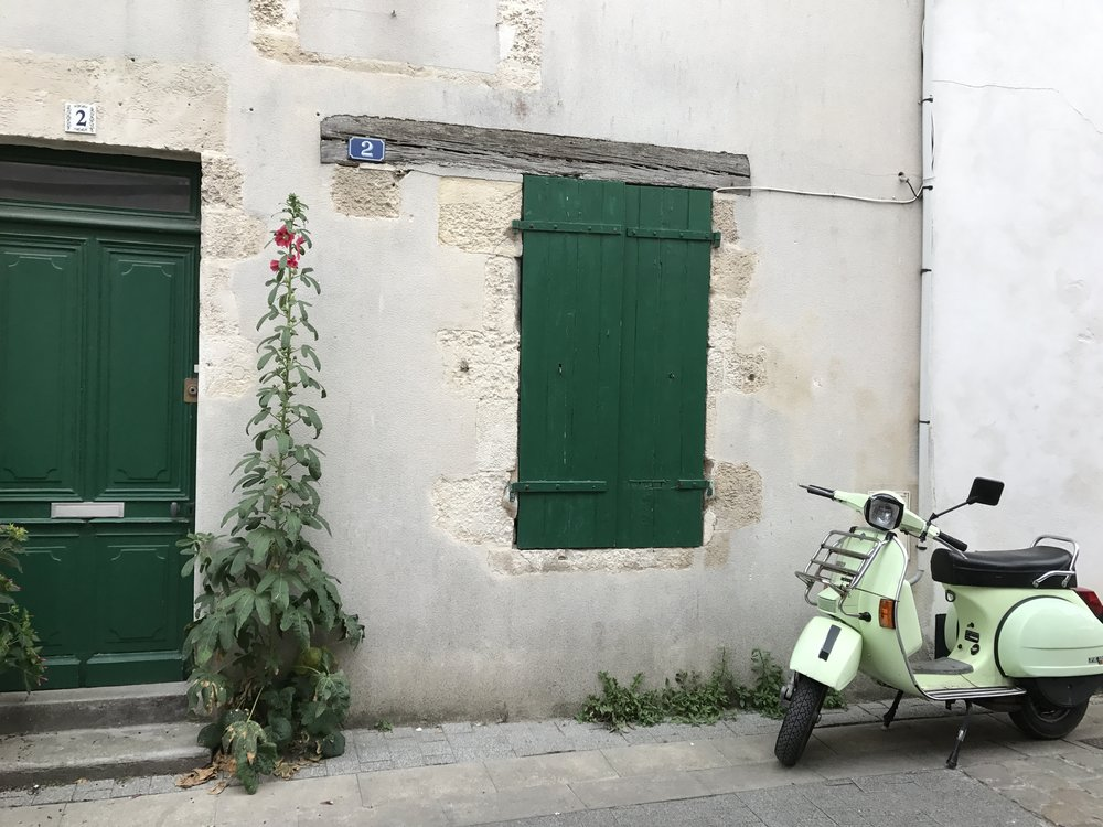 A house in  La Flotte