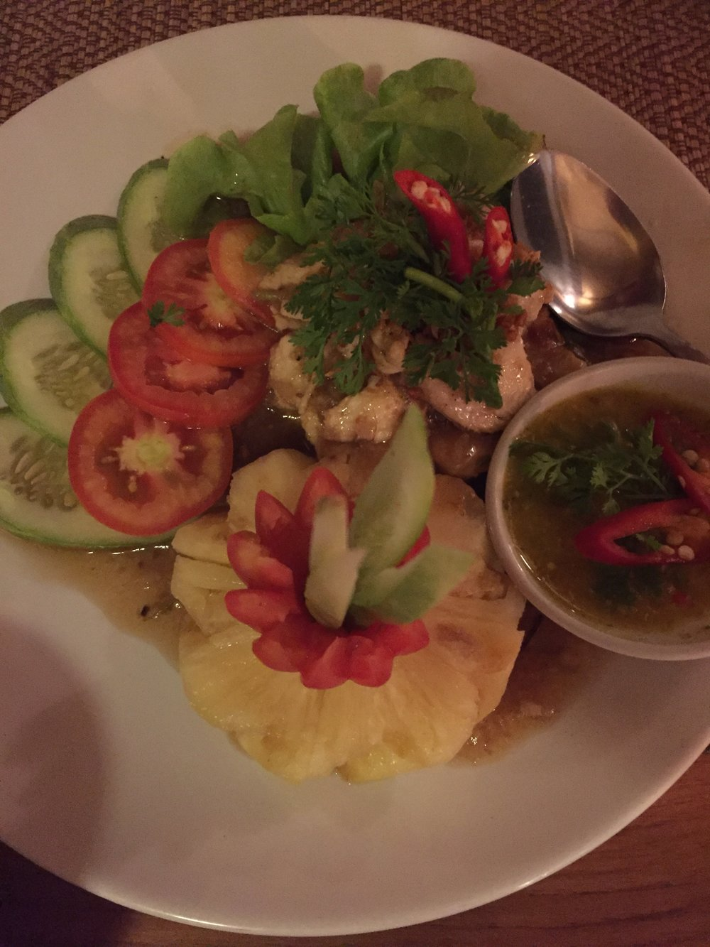 Dinner at Nest 2