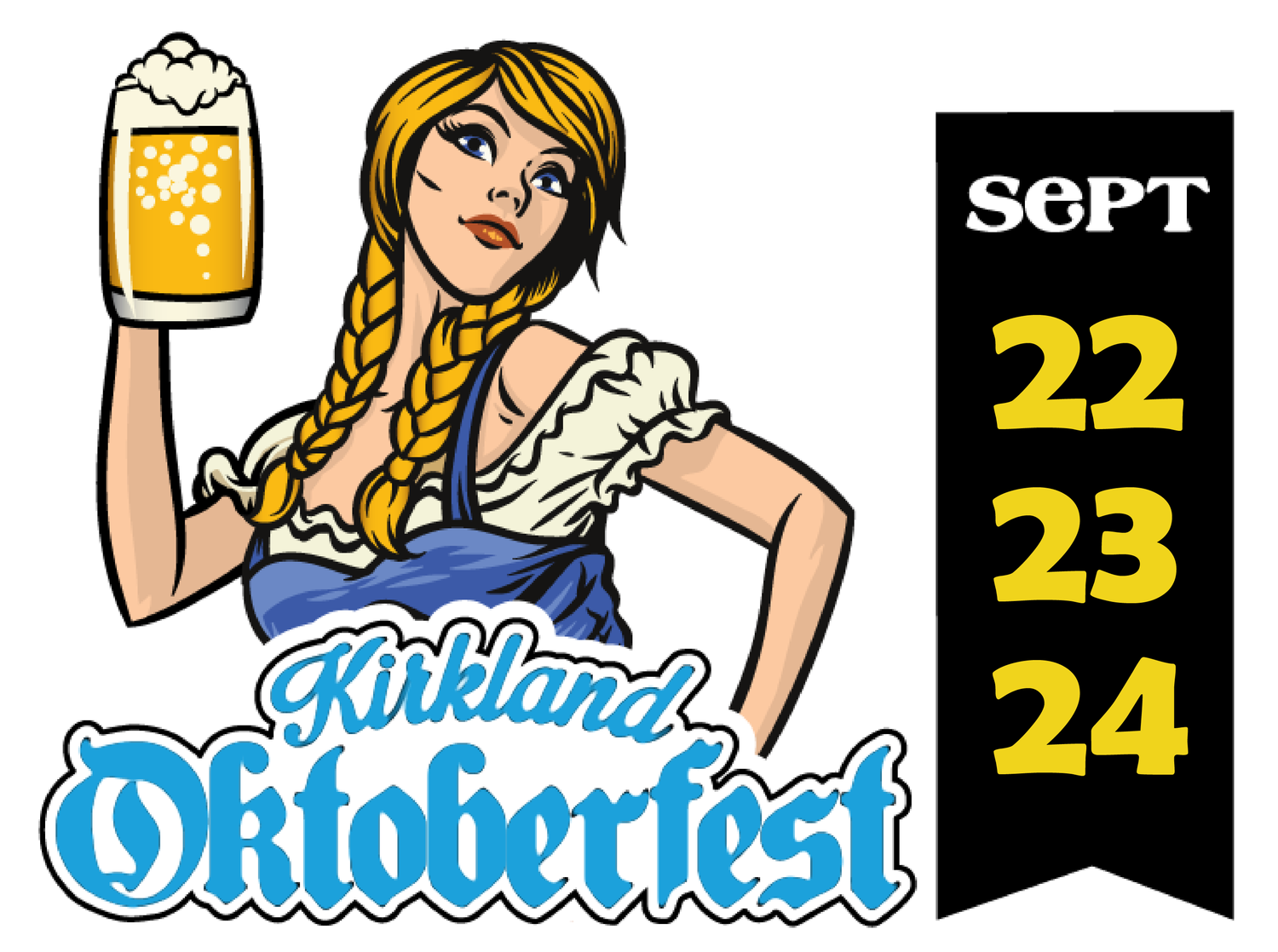 Kirkland Oktoberfest - September 22-24, 2018  | Chump Change