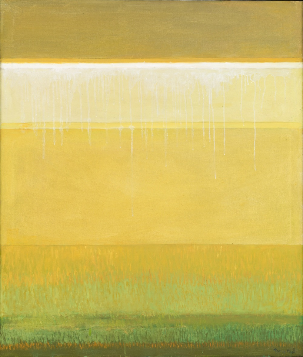 Marie Hull (1890-1980), High Horizon, no date. oil on canvas. Collection of Mississippi Museum of Art. Gift of Virginia McGehee Friend.