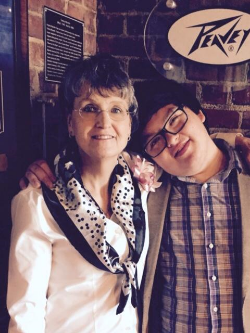 Dr. Kucia and her son Jay