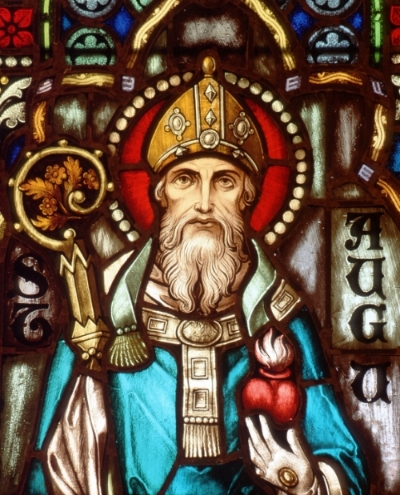 Saint Augustine of Hippo, courtesy of DioSCG