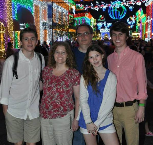My family at Disney World