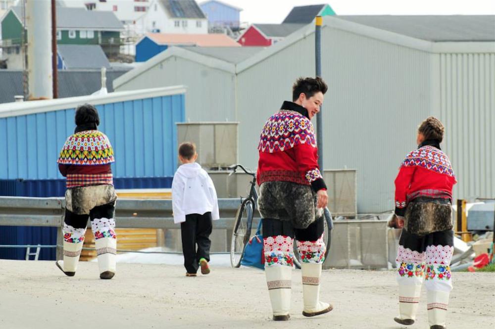 Laakkuluk Williamson Bathory and family in Greenland 2015