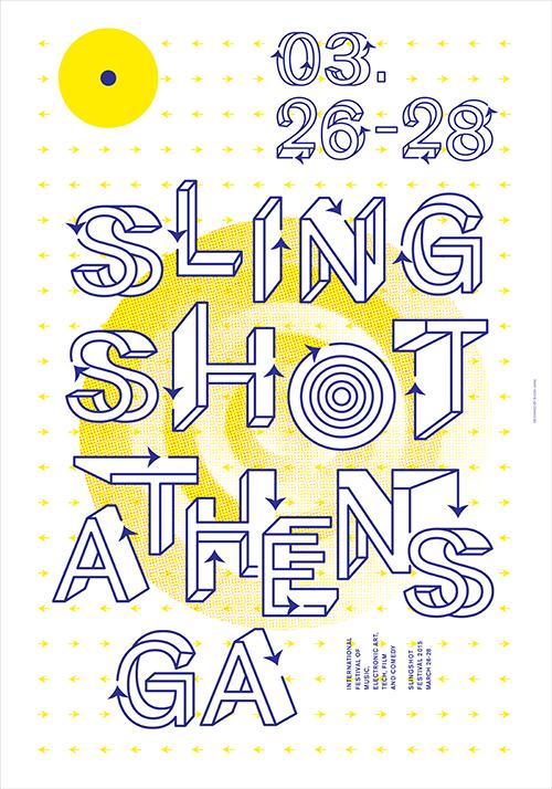 Slingshot Festival Poster, 2015