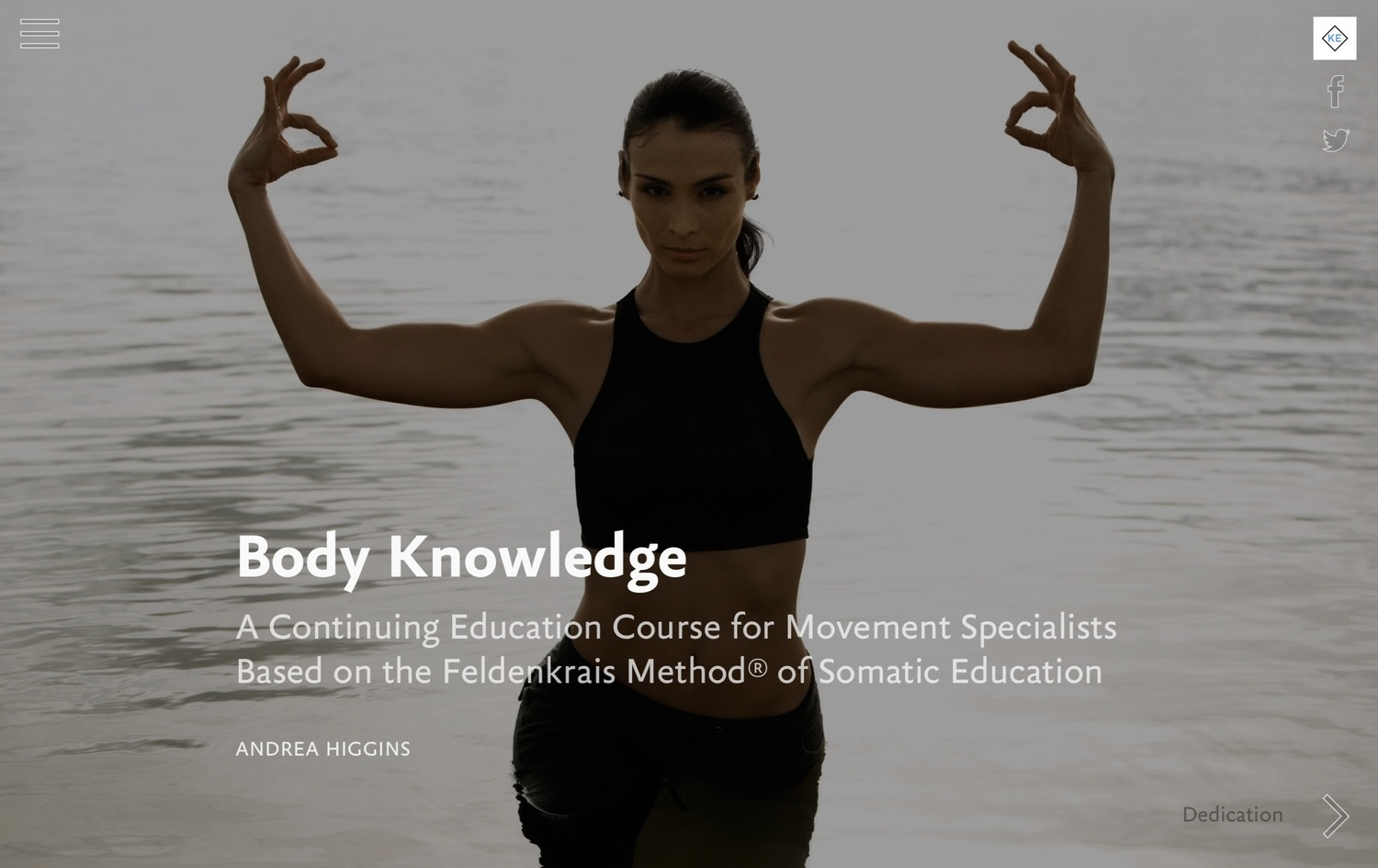 Body Knowledge for Teaching Body Mastery