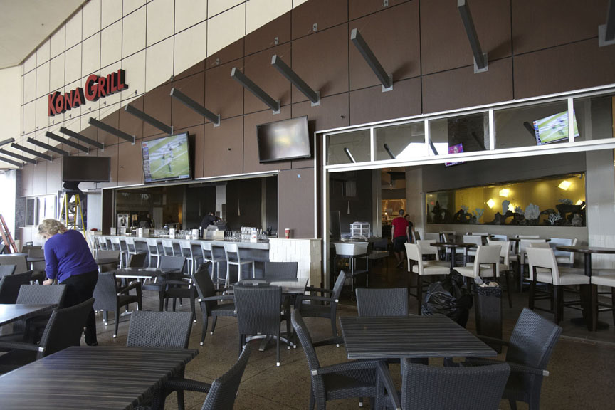 Kona Grill Chandler Patio-Before