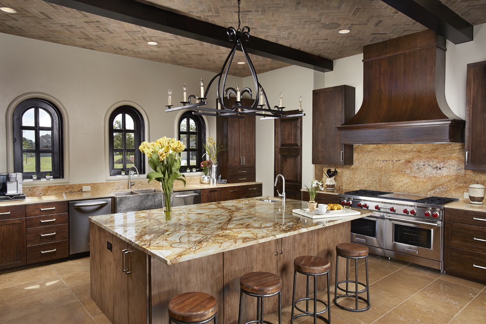 apertureArch dallas custom home kitchen