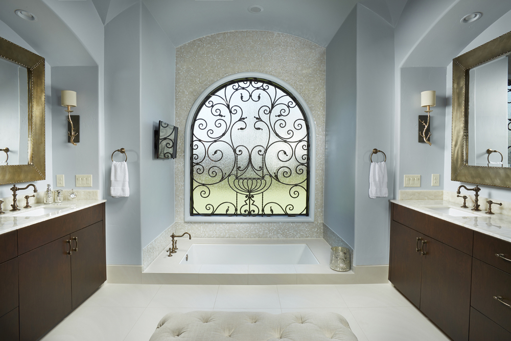 apertureArch dallas custom home interior bath